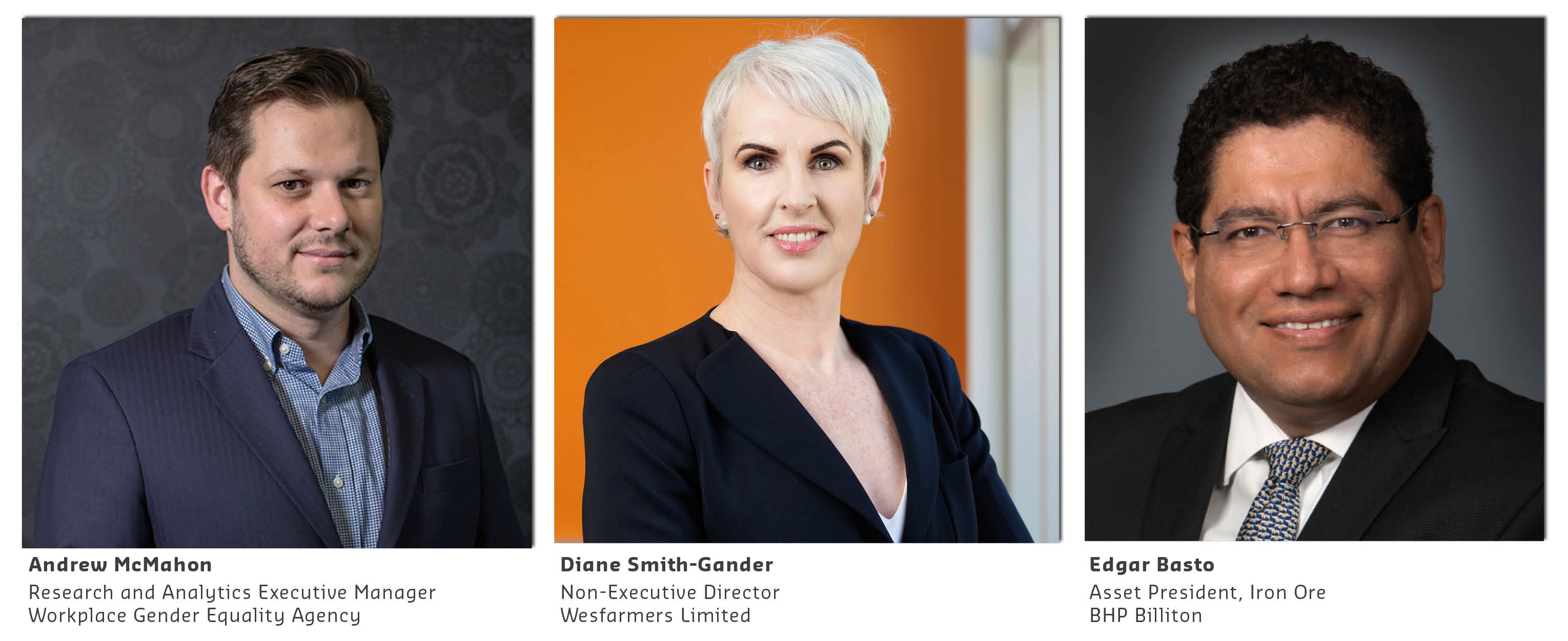 Panellists for the Gender Equity Insights 2017 report launch