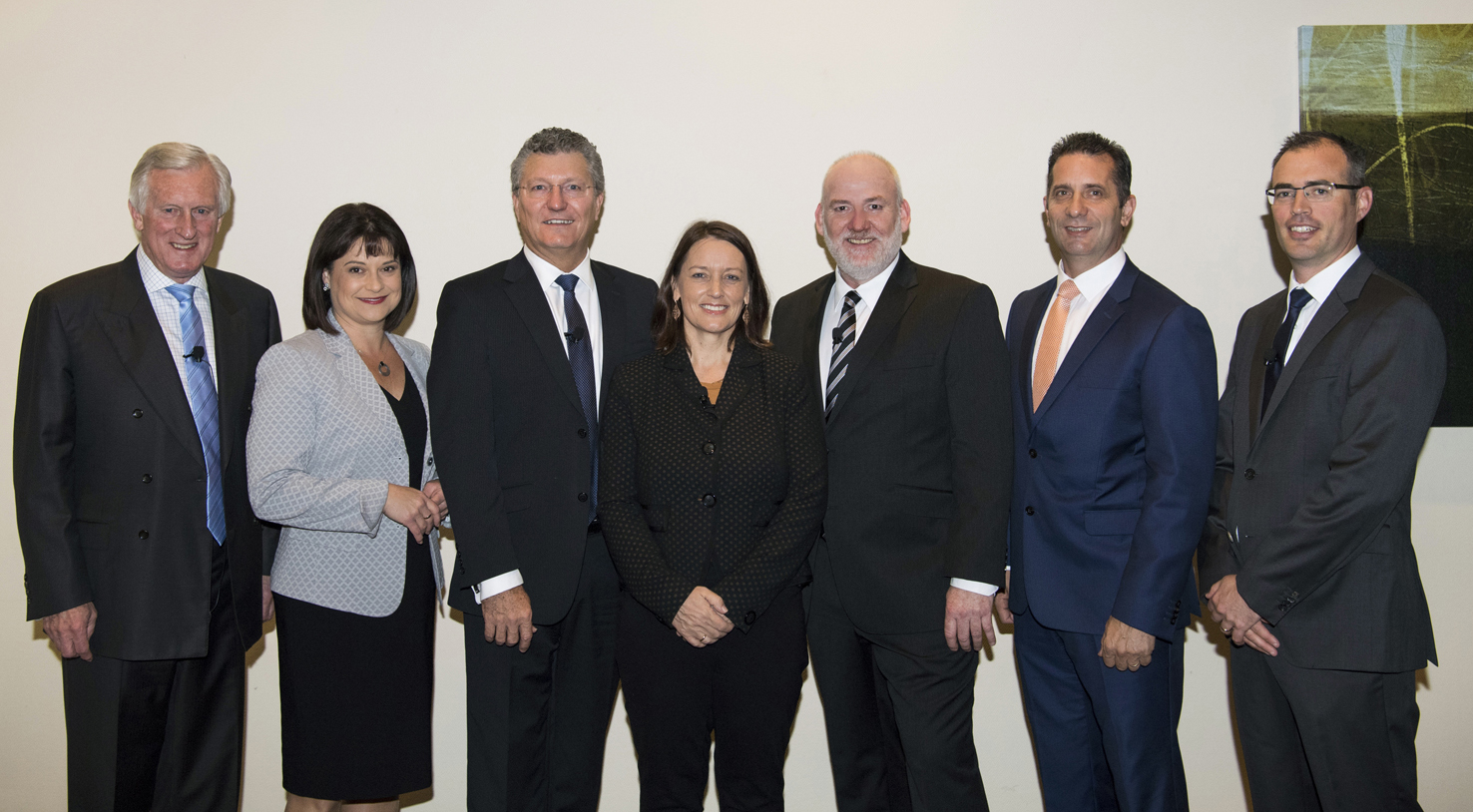 Photo of the panel at the small business report launch