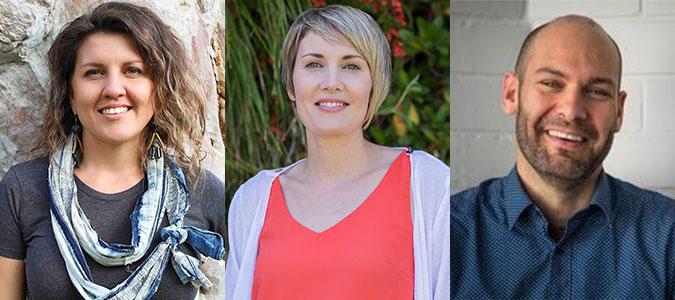 Elizabeth Brennan, Yvonne Power, Piers Verstegen