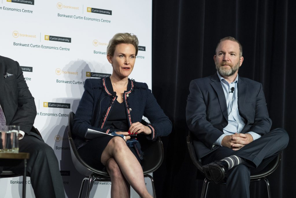 Cath Hart and Steven Rowley on the Housing Affordability panel