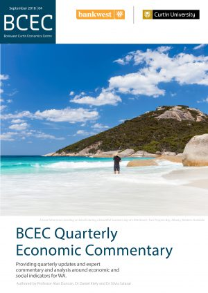this western australia quarterly economic commentary analyses the most recent data on economic and social indicators for wa as at the end of q3 2018